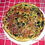 recette Tarte végétarienne ( Tomates - courgettes - poivrons )