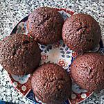 recette Muffins choco-noisette au miel