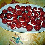 recette Tomates cocktail au chavroux