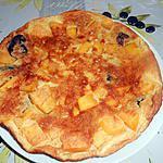 recette CLAFOUTIS MANGUE PRUNEAUX