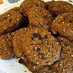 recette Biscuits aux pépites de chocolat et grains de sarrasin