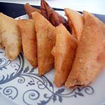 recette Samoussas au poulet curry