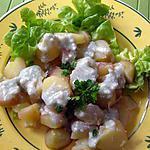 recette Salade de pommes de terre au roquefort