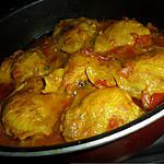 recette Curry de poulet à la tomate