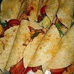 recette Fajitas au poulet