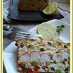 recette Pain de surimi à la macédoine