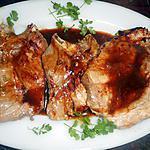 recette Cotes de porc a l aigre douce