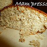recette Gâteau coco (sans gluten et plv)