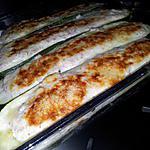 recette Barquettes de courgettes au jambon et boursin