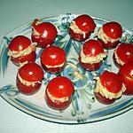 recette Tomate au râpé de surimi -mayonnaise