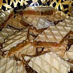 recette Gaufrettes caramel pistaches
