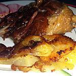 recette Confit de canard et pommes de terre sautées