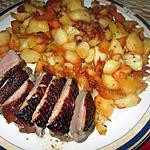 recette pommes de terre  sarladaises  ,     apéritif avec produits locaux