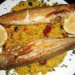recette Merlan au riz oriental