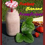 recette Smoothie fraises framboises banane