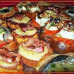 recette Canapés croustillants
