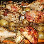 recette Cuisses de dinde au romarin et pommes de terre nouvelles