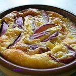 recette clafoutis aux nectarines