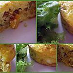 recette Fritata aux courgettes jaunes