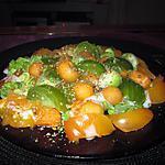 recette assiette crudités tomates  melon