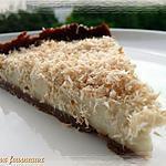 recette Tarte à la noix de coco grillée