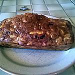 recette CAKE aux FÈVES et CHORIZO