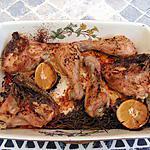 recette Cuisses de poulet rôti au citron et au romarin