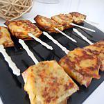 recette Sucettes de brick au saumon-fromage