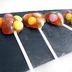 recette Sucettes de caramel au bonbons