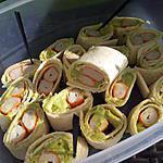 recette Maki de Wrap pique-nique au surimi et avocat