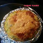 recette Quiche au camembert et courgette
