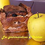 recette Pudding aux pommes raisins sec light