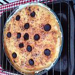 recette tarte aux fruits de mer chorizo
