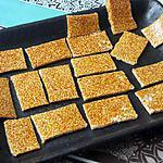recette Nougat chinois au sésame