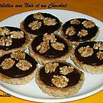 recette Tartelettes aux noix et au chocolat