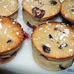 recette petits clafoutis cerises-amandes