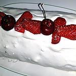 recette Roulé aux fraises - recette n°100 Merci à tous!!!