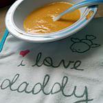 recette Soupe de légumes au jambon et kiri *Pour Bébé*