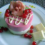 recette Entremets acidulés, Groseilles et chocolat blanc