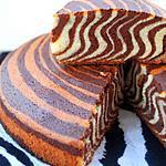 recette Gâteau tigré, zébré ou encore le zebra cake