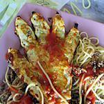 recette tourte viande hachée facon pizza calzone et bolognaise
