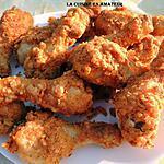 recette Pilons de poulet façon KFC