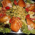 recette Poulet fumé,salade et mayonnaise