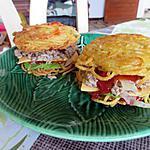 recette Burgnouille (burger au pain de spaguettis)-(diabetique/dietetique)