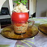 recette tomate mimosa à la chantilly des mers (2eme vie des restes)