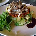 recette salade courgette pomme de terre et anchois