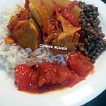 recette Carry de porc et rougail tomates