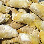 recette Ghotab (petits croissants iraniens fourrés aux pistaches)