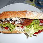 recette SANDWICH BURGER DE POISSON