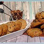 recette Cookies aux fruits secs